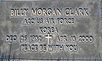 CLARK, BILLY MORGAN - Mohave County, Arizona | BILLY MORGAN CLARK - Arizona Gravestone Photos