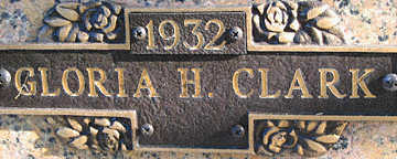 CLARK, GLORIA H - Mohave County, Arizona | GLORIA H CLARK - Arizona Gravestone Photos