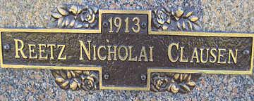 CLAUSEN, REETZ NICHOLAI - Mohave County, Arizona | REETZ NICHOLAI CLAUSEN - Arizona Gravestone Photos