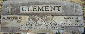 CLEMENT, WINFRED R - Mohave County, Arizona | WINFRED R CLEMENT - Arizona Gravestone Photos