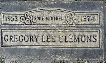 CLEMONS, GREGORY LEE - Mohave County, Arizona | GREGORY LEE CLEMONS - Arizona Gravestone Photos