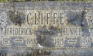 CLIFFE, FREDERICK - Mohave County, Arizona | FREDERICK CLIFFE - Arizona Gravestone Photos