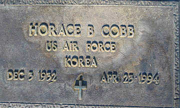 COBB, HORACE B - Mohave County, Arizona | HORACE B COBB - Arizona Gravestone Photos