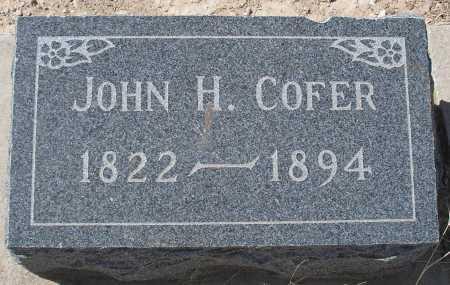 COFER, JOHN H. - Mohave County, Arizona | JOHN H. COFER - Arizona Gravestone Photos