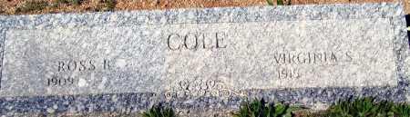 COLE, ROSS R - Mohave County, Arizona | ROSS R COLE - Arizona Gravestone Photos