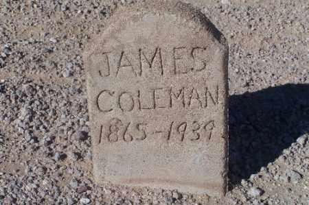 COLEMAN, JAMES - Mohave County, Arizona   JAMES COLEMAN - Arizona Gravestone Photos