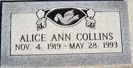 COLLINS, ALICE ANN - Mohave County, Arizona | ALICE ANN COLLINS - Arizona Gravestone Photos
