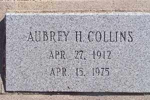 COLLINS, AUBREY H - Mohave County, Arizona   AUBREY H COLLINS - Arizona Gravestone Photos