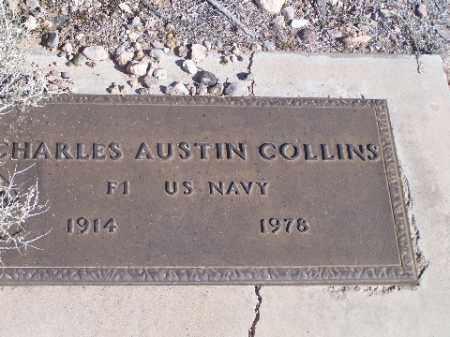 COLLINS, CHARLES AUSTIN - Mohave County, Arizona   CHARLES AUSTIN COLLINS - Arizona Gravestone Photos