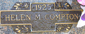 COMPTON, HELEN M - Mohave County, Arizona | HELEN M COMPTON - Arizona Gravestone Photos