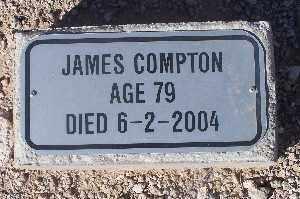 COMPTON, JAMES - Mohave County, Arizona | JAMES COMPTON - Arizona Gravestone Photos