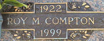COMPTON, ROY M - Mohave County, Arizona | ROY M COMPTON - Arizona Gravestone Photos