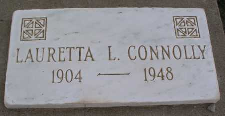 CONNOLLY, LAURETTA L. - Mohave County, Arizona | LAURETTA L. CONNOLLY - Arizona Gravestone Photos