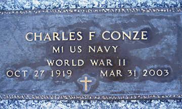 CONZE, CHARLES F - Mohave County, Arizona | CHARLES F CONZE - Arizona Gravestone Photos