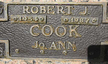 COOK, JOANN - Mohave County, Arizona | JOANN COOK - Arizona Gravestone Photos
