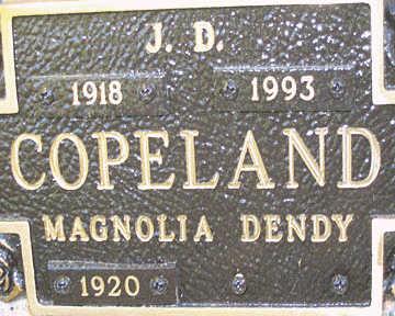 COPELAND, J. D. - Mohave County, Arizona | J. D. COPELAND - Arizona Gravestone Photos
