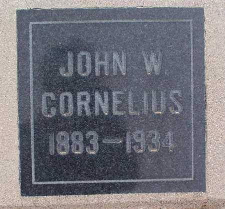 CORNELIUS, JOHN W. - Mohave County, Arizona   JOHN W. CORNELIUS - Arizona Gravestone Photos