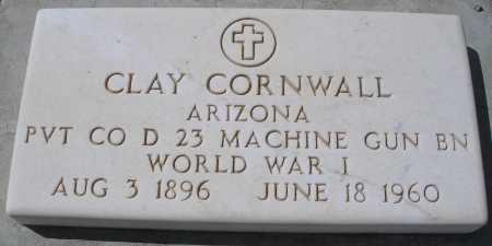 CORNWALL, CLAY - Mohave County, Arizona | CLAY CORNWALL - Arizona Gravestone Photos