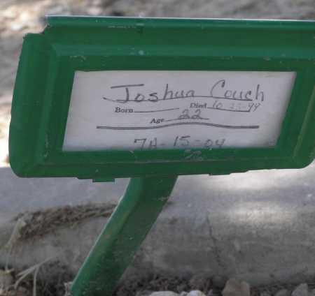 COUCH, JOSHUA - Mohave County, Arizona   JOSHUA COUCH - Arizona Gravestone Photos