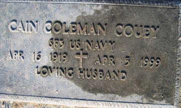 COUEY, CAIN COLEMAN - Mohave County, Arizona | CAIN COLEMAN COUEY - Arizona Gravestone Photos
