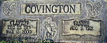 COVINGTON, FANNIE - Mohave County, Arizona | FANNIE COVINGTON - Arizona Gravestone Photos