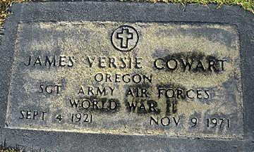 COWART, JAMES VERSIE - Mohave County, Arizona | JAMES VERSIE COWART - Arizona Gravestone Photos