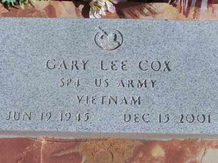 COX, GARY LEE - Mohave County, Arizona | GARY LEE COX - Arizona Gravestone Photos