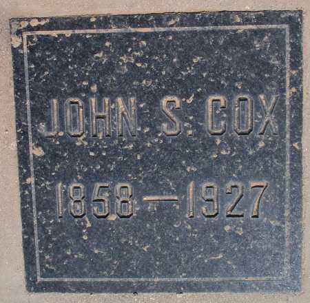 COX, JOHN S. - Mohave County, Arizona | JOHN S. COX - Arizona Gravestone Photos