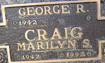 CRAIG, MARILYN S - Mohave County, Arizona | MARILYN S CRAIG - Arizona Gravestone Photos