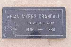 CRANDALL, BRIAN MYERS - Mohave County, Arizona | BRIAN MYERS CRANDALL - Arizona Gravestone Photos