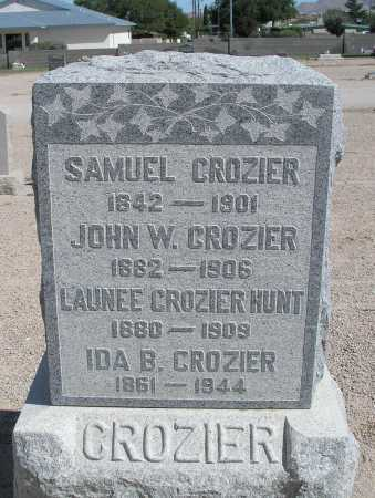 CROZIER HUNT, LAUNEE - Mohave County, Arizona | LAUNEE CROZIER HUNT - Arizona Gravestone Photos