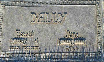 DALLY, JUNE - Mohave County, Arizona | JUNE DALLY - Arizona Gravestone Photos
