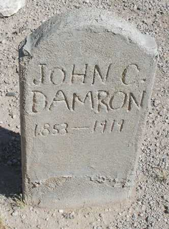 DAMRON, JOHN C. - Mohave County, Arizona | JOHN C. DAMRON - Arizona Gravestone Photos