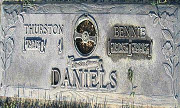 DANIELS, THURSTON - Mohave County, Arizona | THURSTON DANIELS - Arizona Gravestone Photos