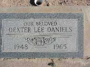 DANIELS, DEXTER LEE - Mohave County, Arizona | DEXTER LEE DANIELS - Arizona Gravestone Photos