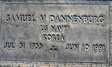 DANNENBURG, SAMUEL V - Mohave County, Arizona | SAMUEL V DANNENBURG - Arizona Gravestone Photos