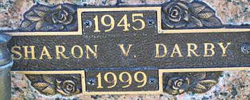 DARBY, SHARON V - Mohave County, Arizona   SHARON V DARBY - Arizona Gravestone Photos
