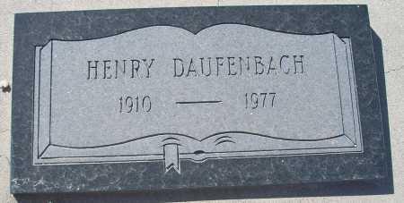 DAUFENBACH, HENRY - Mohave County, Arizona | HENRY DAUFENBACH - Arizona Gravestone Photos