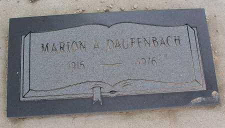 DAUFENBACH, MARION A. - Mohave County, Arizona | MARION A. DAUFENBACH - Arizona Gravestone Photos