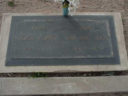 DAVIS, GEORGE WYATT - Mohave County, Arizona | GEORGE WYATT DAVIS - Arizona Gravestone Photos