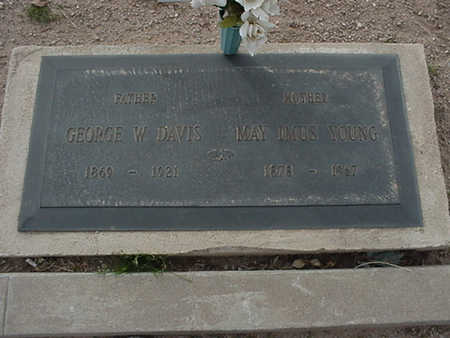IMUS DAVIS, MAY - Mohave County, Arizona | MAY IMUS DAVIS - Arizona Gravestone Photos