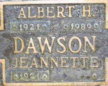 DAWSON, JEANNETTE - Mohave County, Arizona | JEANNETTE DAWSON - Arizona Gravestone Photos