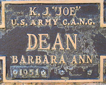DEAN, K. J. - Mohave County, Arizona | K. J. DEAN - Arizona Gravestone Photos