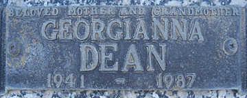 DEAN, GEORGIANNA - Mohave County, Arizona | GEORGIANNA DEAN - Arizona Gravestone Photos