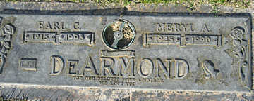 DEARMOND, EARL C - Mohave County, Arizona | EARL C DEARMOND - Arizona Gravestone Photos