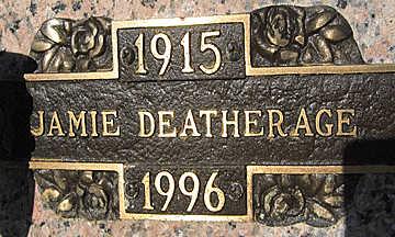 DEATHERAGE, JAMIE - Mohave County, Arizona | JAMIE DEATHERAGE - Arizona Gravestone Photos