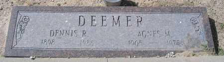 DEEMER, AGNES M. - Mohave County, Arizona | AGNES M. DEEMER - Arizona Gravestone Photos