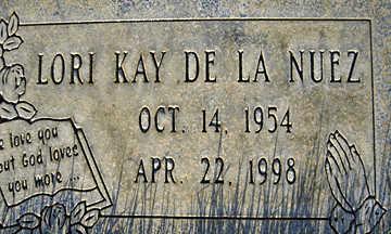 DELANUEZ, LORI KAY - Mohave County, Arizona | LORI KAY DELANUEZ - Arizona Gravestone Photos