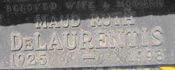DELAURENTIS, MAUD RUTH - Mohave County, Arizona   MAUD RUTH DELAURENTIS - Arizona Gravestone Photos