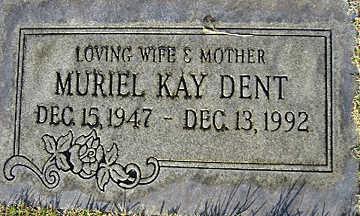 DENT, MURIEL KAY - Mohave County, Arizona | MURIEL KAY DENT - Arizona Gravestone Photos